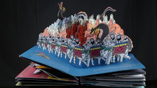زال و رودابه٬ با پرهای آتشین٬ به جشنواره نوروزگان میآیند