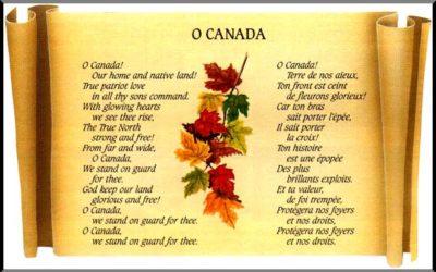 آیا سرود ملی کانادا را باید تغییر داد؟