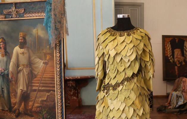 نمایشگاه ۵ هزارسال لباس زنان ایران، در جشنواره تیرگان