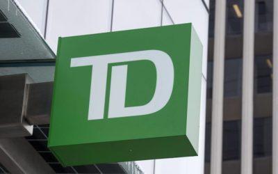 بخشی از خدمات بانک تی دی به مشتریان، در هند انجام میشود