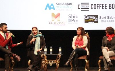 با تهمینه میلانی در جشنواره فیلم سین-ایران تورنتو