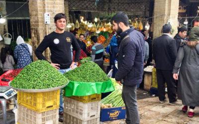 حال و هوای میدان تجریش در نوروز