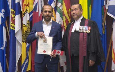 دونده ایرانی-کانادایی حالا میتواند به آمریکا برود