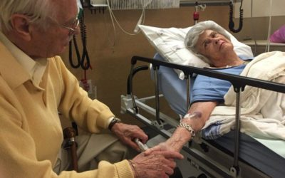 مرگ همزمان پس از ۷۳ سال زندگی مشترک