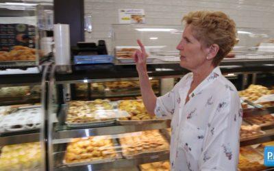نخستوزیر انتاریو در سوپر خوراک