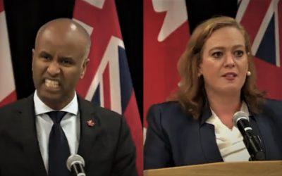 اختلاف شدید دولت فدرال کانادا و دولت انتاریو در مورد پناهندگان