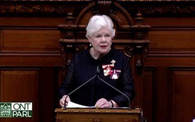 گشایش رسمی پارلمان انتاریو با اولویتهای سیاست محافظهکاران