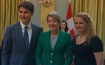ترمیم و تغییرات مهم در کابینه دولت فدرال کانادا