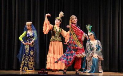 باغ انار: رقصها و موسیقی کشورهای آسیای میانه:قسمت دوم