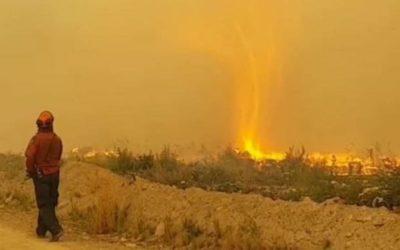 گردبادِ آتش در بریتیش کلمبیا