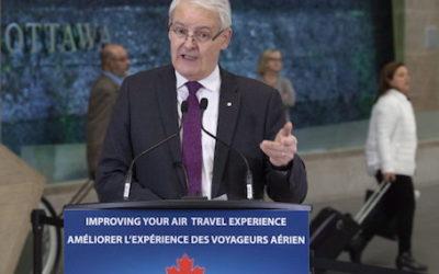 پرداخت خسارت شرکتهای هواپیمایی به مسافران در کانادا