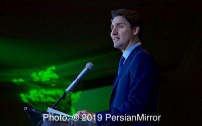 نخستین جشن بینالمللی نوروز با حضور نخست وزیر کانادا